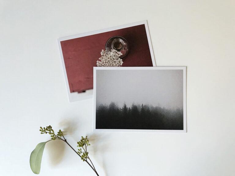 carte postale photo