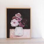 peinture acrylique et pastels originale
