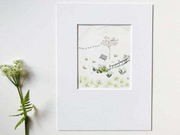 aquarelle et encre